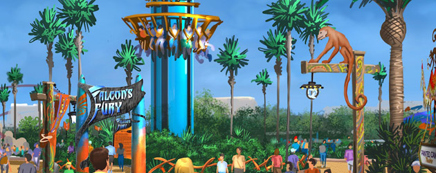 Pantopia to add more than thrills to Busch Gardens Tampa with new show, eats, shopping alongside Falcon's Fury ride