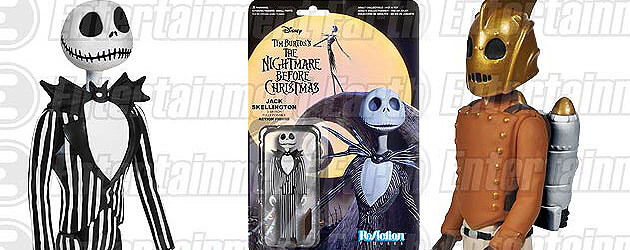 ReAction figures revealed: Rocketeer, Back to the Future, Nightmare Before Christmas, horror and more from Funko, Super7
