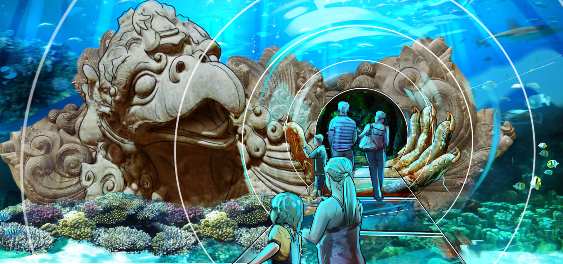 The Orlando Eye Madame Tussauds Sea Life Aquarium To