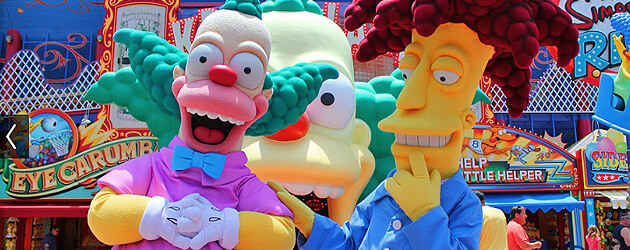 """The Simpsons"" Springfield expansion announced at Universal Studios Hollywood for 2015 with new restaurants, shops"