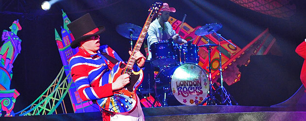 "New ""London Rocks"" show brings the psychedelic fun of the British Invasion to Busch Gardens Williamsburg"