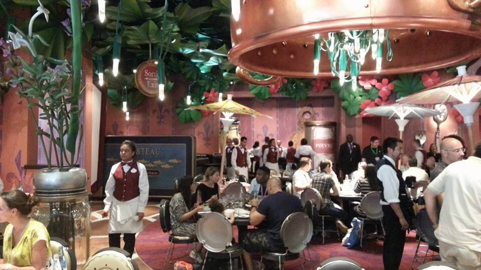 Ratatouille Ride Debuts At Disneyland Paris With Bistrot