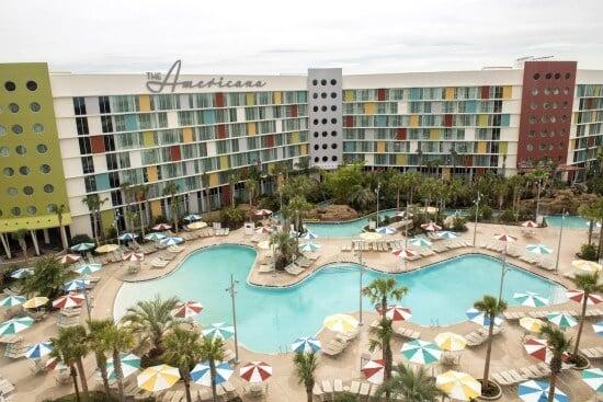 Cabana Bay Beach Resort, Universal Orlando