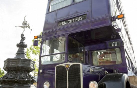 Knight Bus Universal Studios