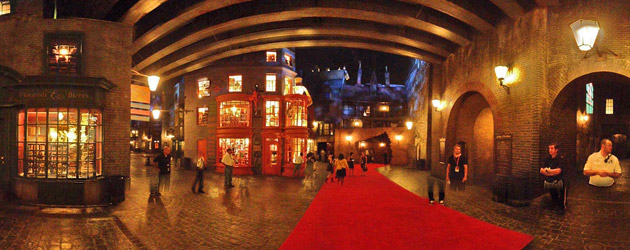 Diagon Alley 360: Interactive panoramic views of the Wizarding World of Harry Potter expansion at Universal Orlando