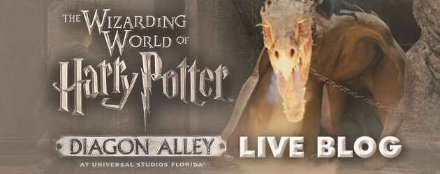 LIVE BLOG: Diagon Alley preview event coverage as Universal Orlando unveils Wizarding World of Harry Potter expansion