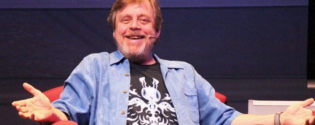Mark Hamill delights fans at Walt Disney World with tales of Luke and voice acting laughs at Star Wars Weekends 2014