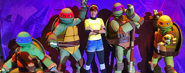 Teenage Mutant Ninja Turtles bring big fun to Nick Hotel with original cartoon voices kicking off Summer of Shell