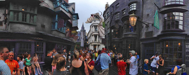 Diagon Alley 360 part 2: More interactive panoramic views of the new Harry Potter expansion at Universal Orlando