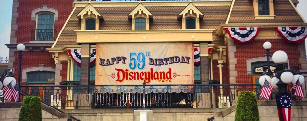 Disneyland announces 60th anniversary diamond celebration plans amidst character-filled 59th birthday moment