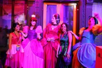 Lady Tremaine and friends entertain at Walt Disney World's recent Villains Unleashed event.