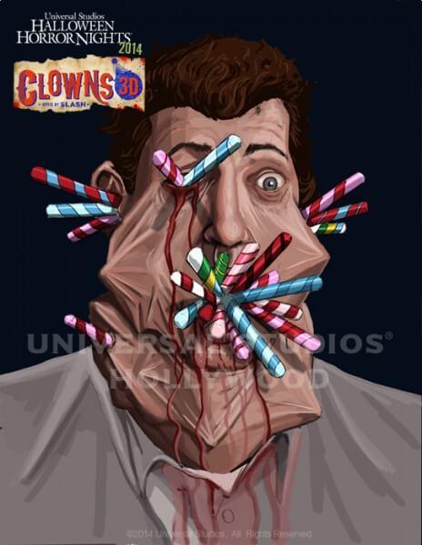 Clowns 3D, Dark Christmas, Skullz, and Mask-A-Raid ...