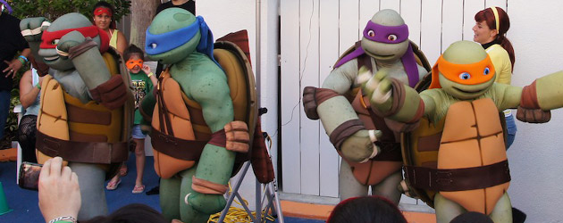 Most fans dressed as Teenage Mutant Ninja Turtles world record smashed at Nick Hotel