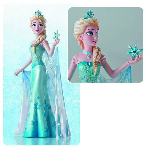 Pre order now new disney couture de force figurines for Couture de force elsa
