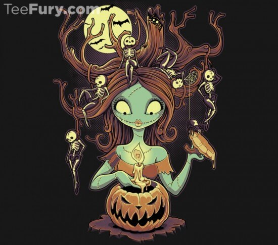 Today Only! New Nightmare Before Christmas Tee from TeeFury ...