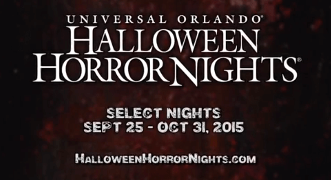 there - Halloween Horror Night Theme