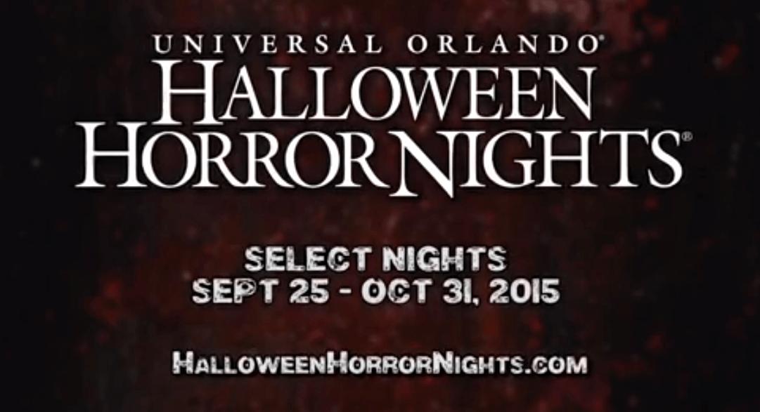 there - Universal Halloween Night