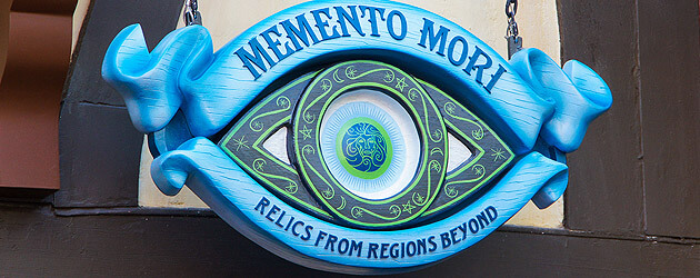 Haunted Mansion store 'Memento Mori' officially opens appropriately amidst Halloween season at Walt Disney World
