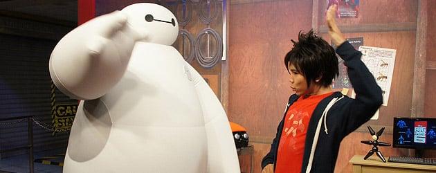 "Baymax & Hiro fist bump their way into Walt Disney World as ""Big Hero 6″ characters begin meeting theme park guests"