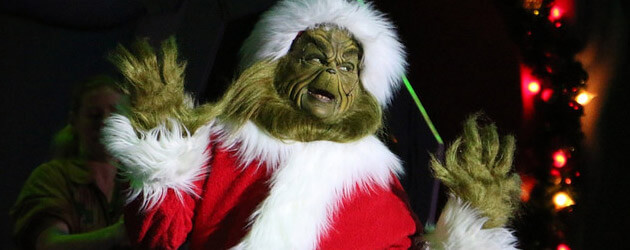 Interview: The Grinch plans his annual Christmas caper, stealing the show at Universal Orlando