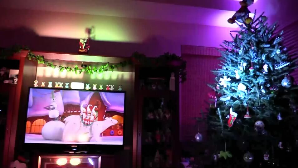 VIDEO: Nightmare Before Christmas Light Show – Inside the Magic ...
