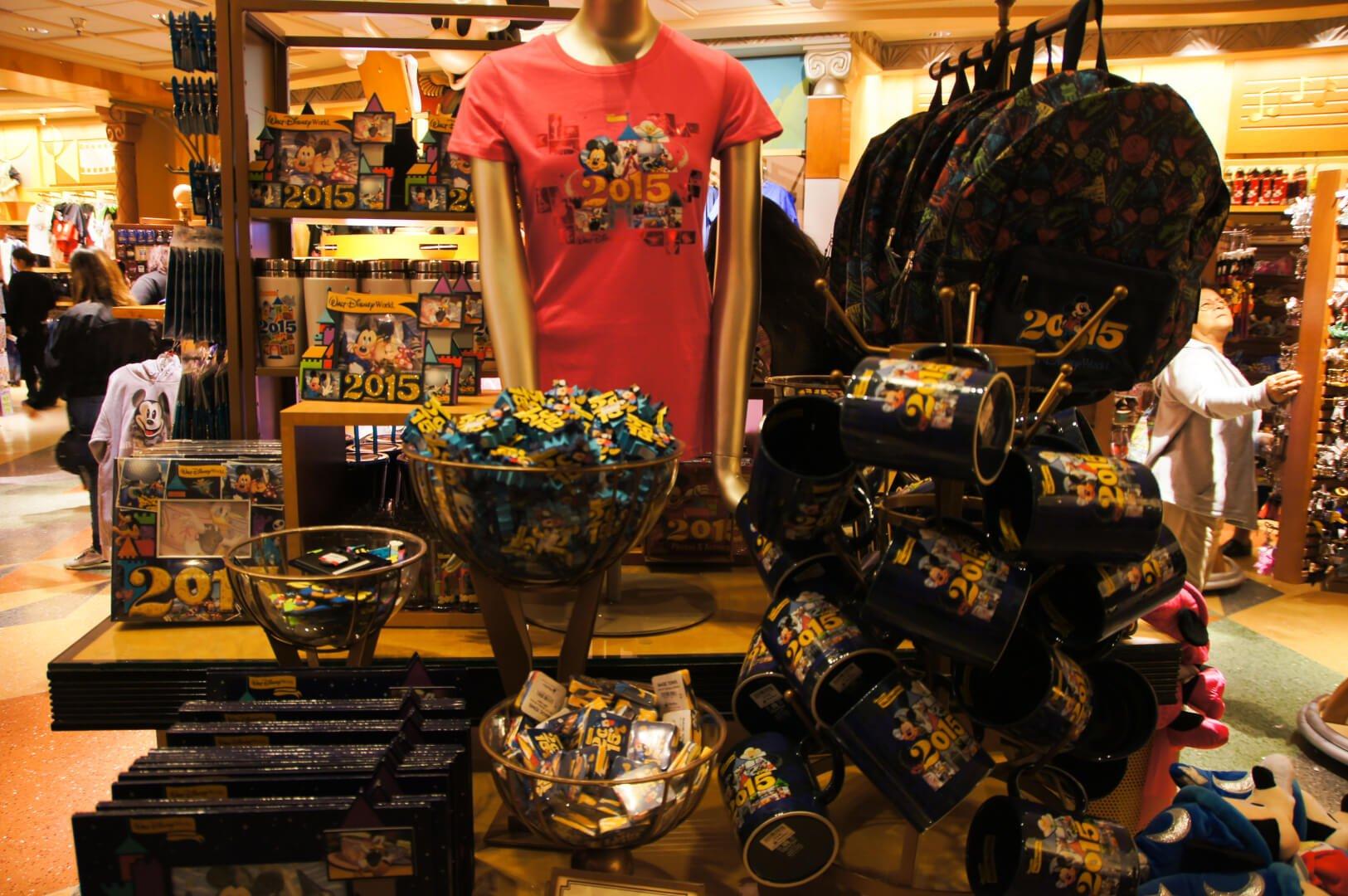 Walt disney clothing store