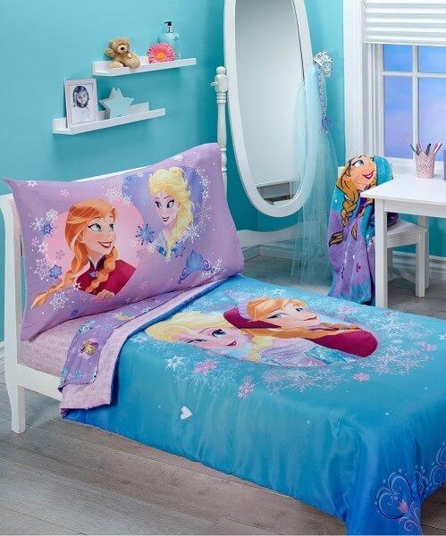 Frozen Toddler Bed Set
