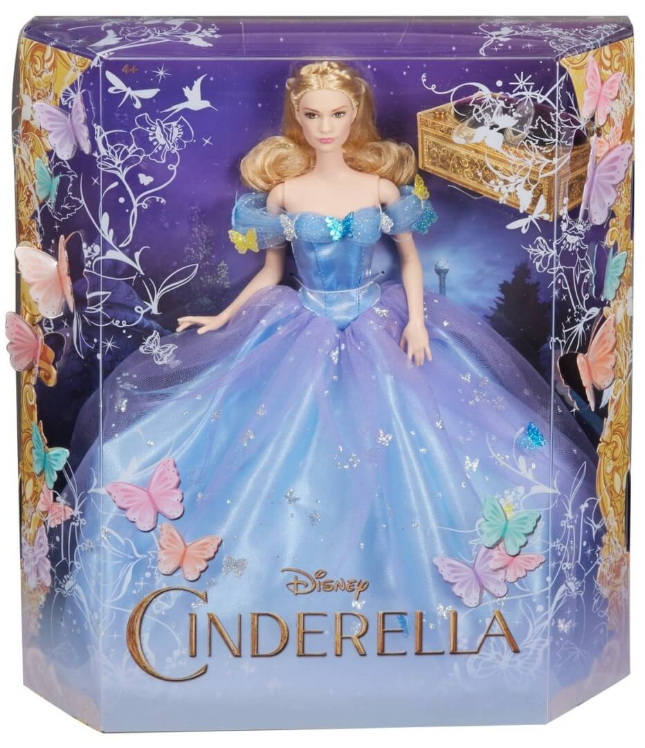Newly released live action cinderella dolls perfect for for Barbie cenerentola