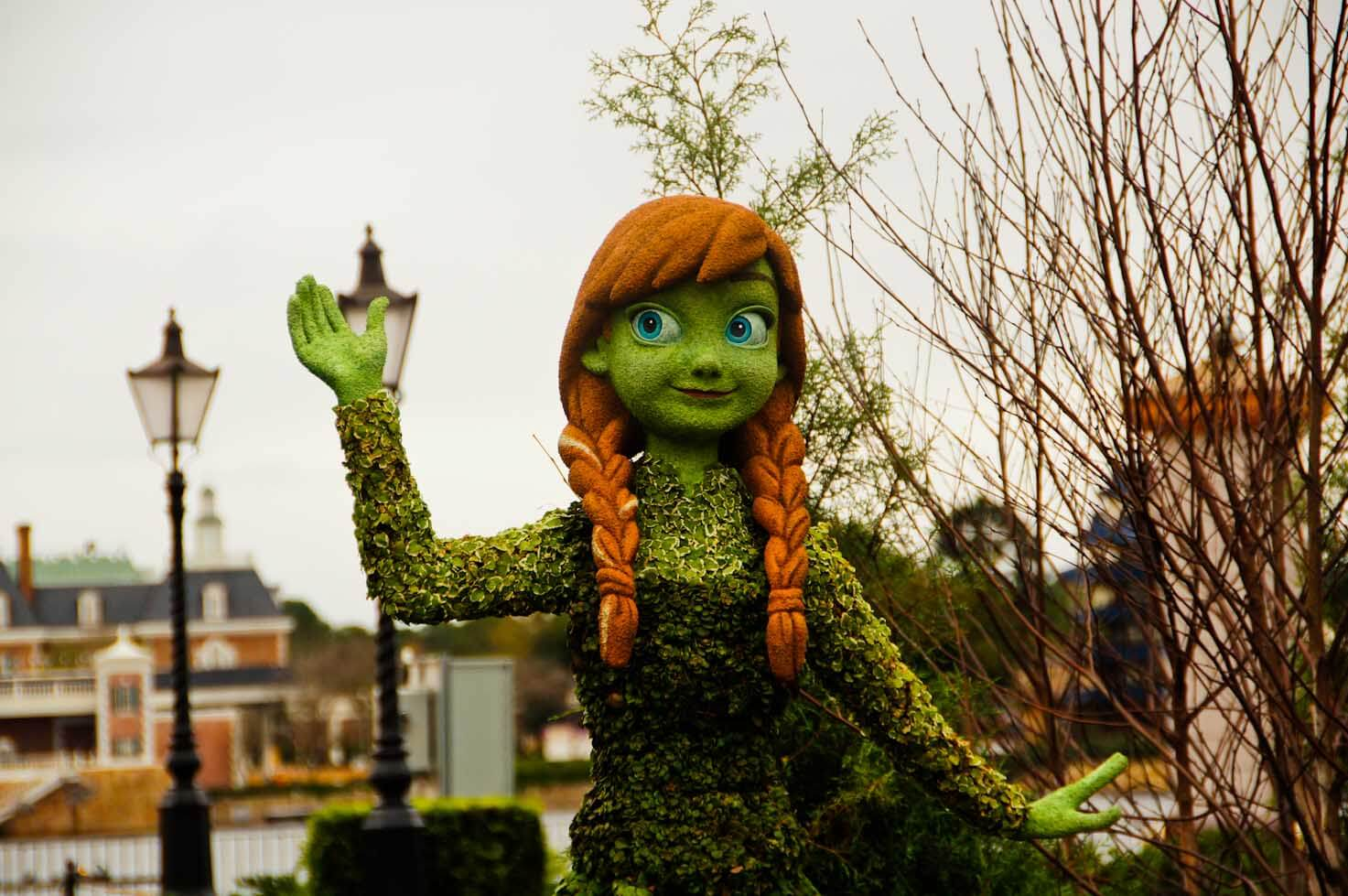 """Preview """"Frozen"""" es to Epcot Flower and Garden Festival 2015 as"""
