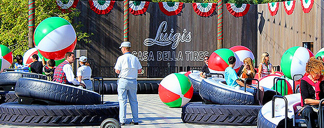 Luigi's Flying Tires at Disney's California Adventure drives off into sunset to become all new ride in early 2016