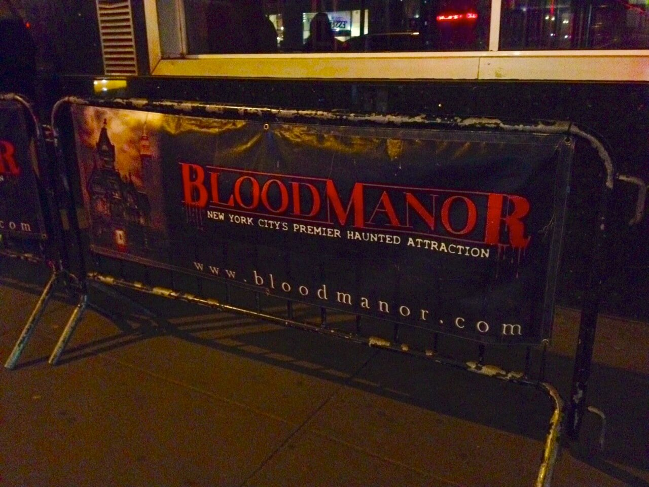 blood manor haunted house brought bad romance to new york over, Ideas