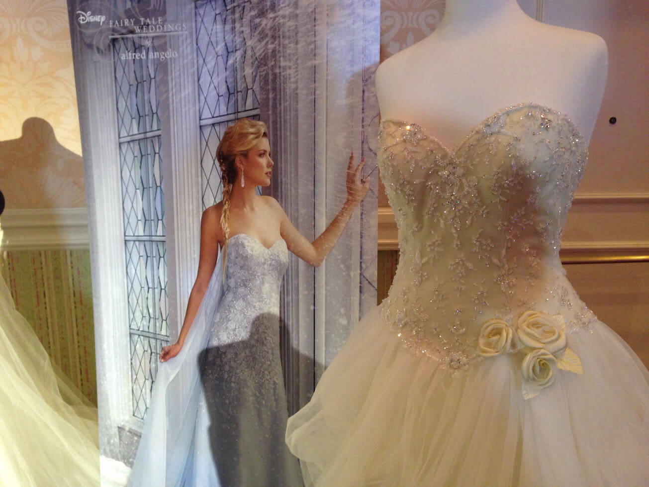 Wedding dresses cakes and decor comes together at disneys fairy disney monicamarmolfo Gallery