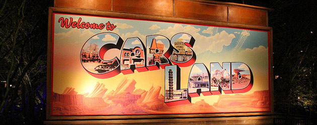Date Nite at Disneyland: Cars Land glows after dark with music and food revving up for a fast ride