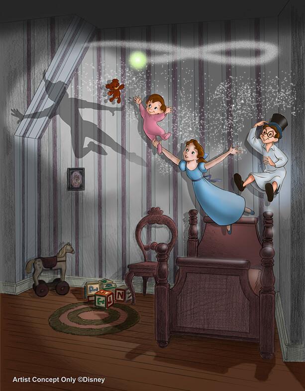 Matterhorn Peter Pan S Flight To Receive New Special