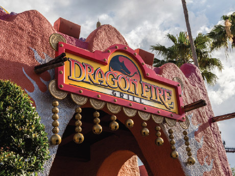 New Dining Experience Dragon Fire Grill Opens At Busch