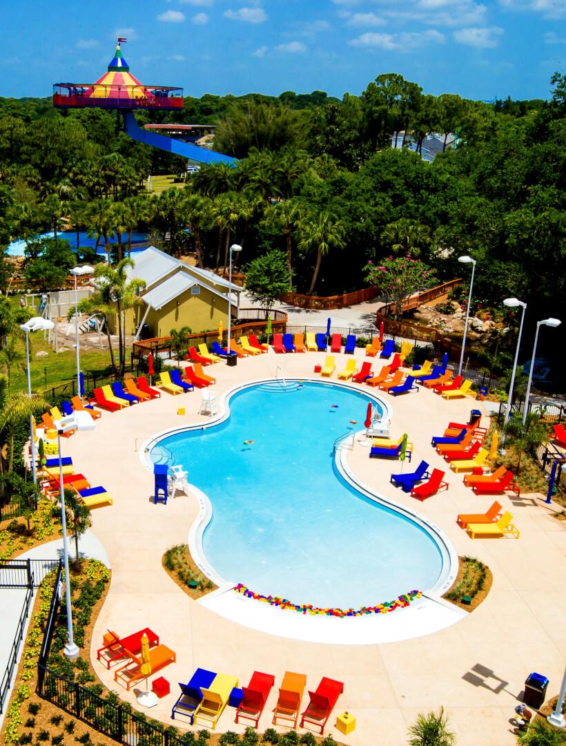 Legoland florida hotel inside the magic for Florida pool show 2015