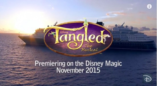 VIDEO Three New Songs To Debut In Tangled The Musical For Disney - Cruise ship songs
