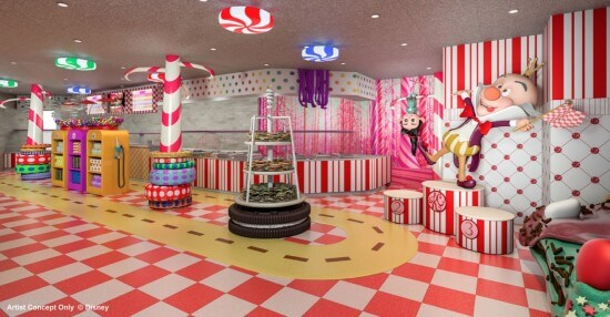 VIDEO: Interview - Disney Cruise Line entertainment preview, Vanellope Sweet Shop,Tangled ...