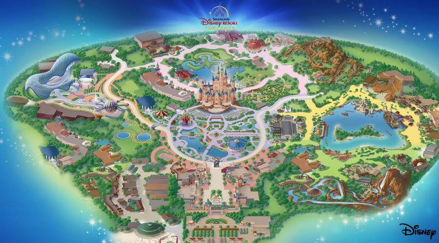 Shanghai Disneyland details announced to include TRON Lightcycle ride ...