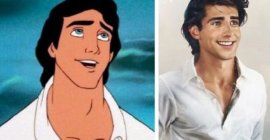 Prince eric in real life