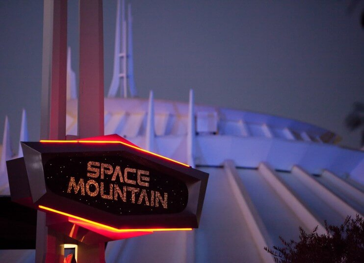 Ride this flawless version of Space Mountain at night, when the sun won't roast you in the outdoor queue.
