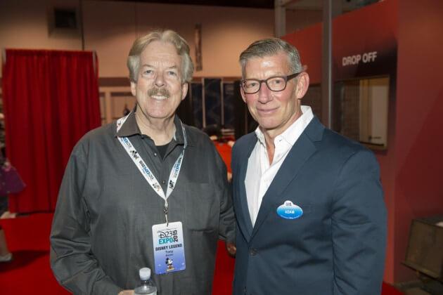 TONY BAXTER, ADAM SANDERSON (Senior Vice President, Corporate Communications, The Walt Disney Company)