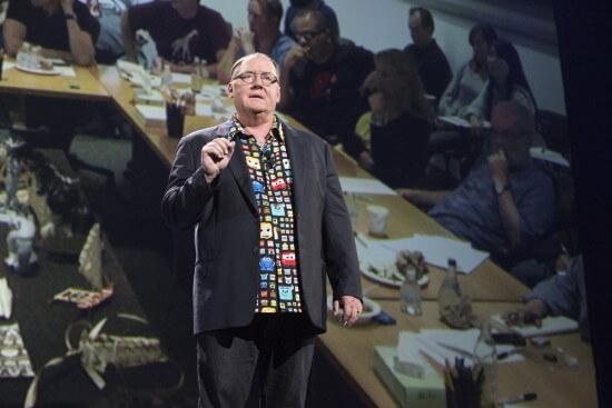 JOHN LASSETER (Chief Creative Officer, Walt Disney and Pixar Animation Studios; Principal Creative Advisor, Walt Disney Imagineering)