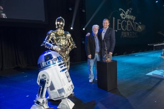 Bob Iger George Lucas