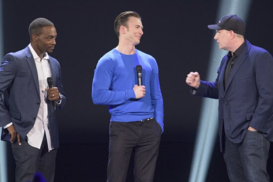 ANTHONY MACKIE, CHRIS EVANS, KEVIN FEIGE