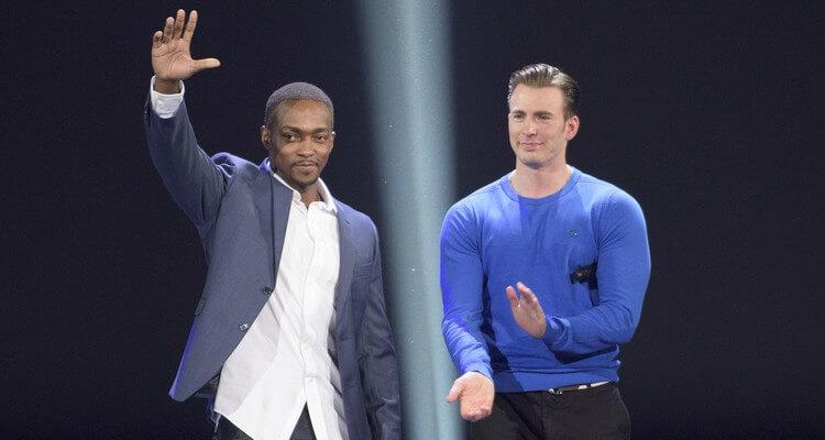 Anthony Mackie Black Captain America