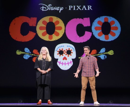 """Pixar And Walt Disney Animation Studios: The Upcoming Films"" Presentation At Disney's D23 EXPO 2015"