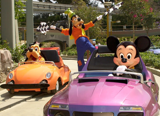 Autopia takes up a full half of Tomorrowland's footprint. It's almost like, without it, they could fit an entire other land in there. Star Wars Land, perhaps.