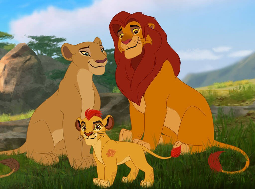 Lion king spin off the lion guard return of the roar - Kion le roi lion ...