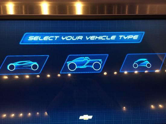 Choose a Vehicle